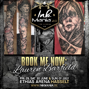 Ink Mania 2018 - Lauren Barfield
